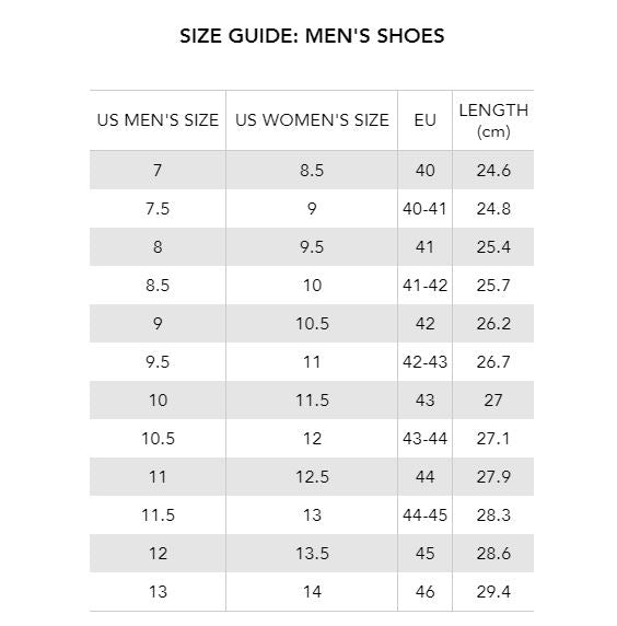 Armani Exchange Shoes Size Chart Off 76 Buy