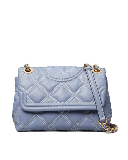Tory Burch Small Fleming Distressed Convertible Shoulder