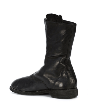 Guidi 1896 310 Zip-Up Full Grain Leather Army Boots