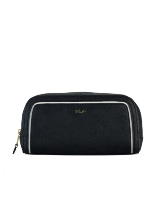 Lauren Ralph Lauren Dorset Cosmetic Case Black - Fashionbarn shop - 1