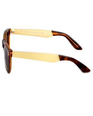 Super by Retrosuperfuture Classic Francis Havana Men's Sunglasses