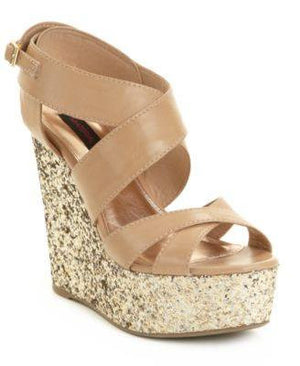 MATERIAL GIRL-WEDGE SANDALS-MATERIAL GIRL-Fashionbarn shop
