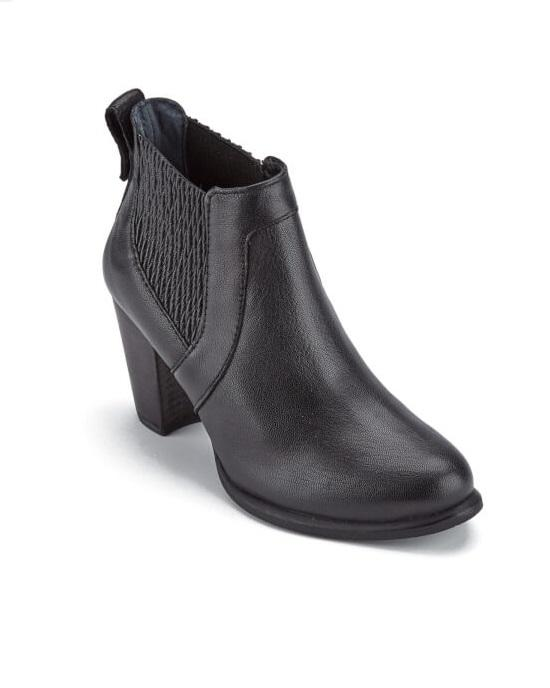 eaee061ff61 Women's Cobie II Leather Heeled Ankle Boots - Black