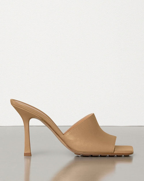 Bottega Veneta Square-Toe Open Mules