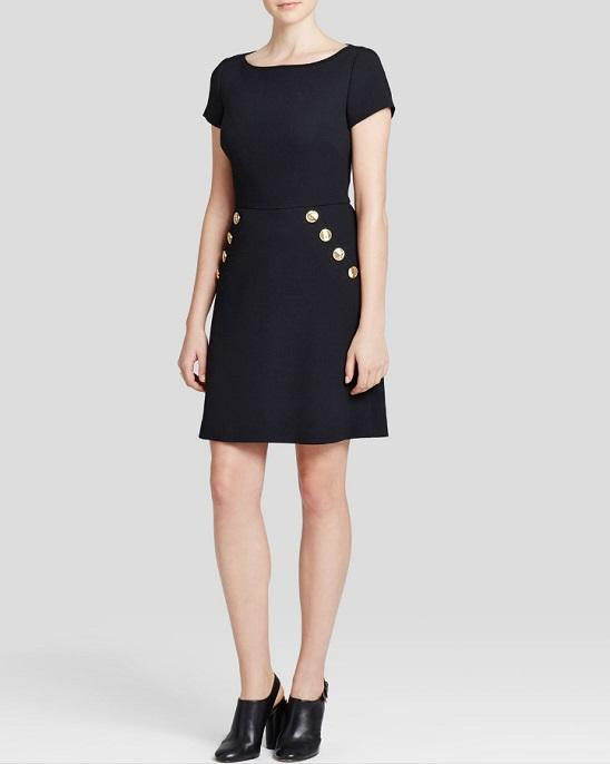 Boutique Moschino Dress - Button Trim