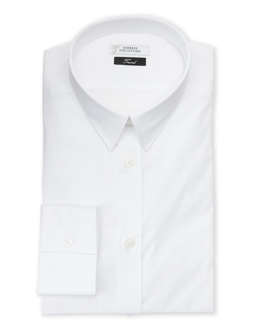 Versace Collection City Fit Dress Shirt, White