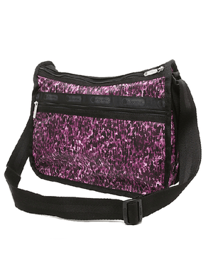 LeSportsac Deluxe Everyday Bag Violet Chettah - Fashionbarn shop - 5