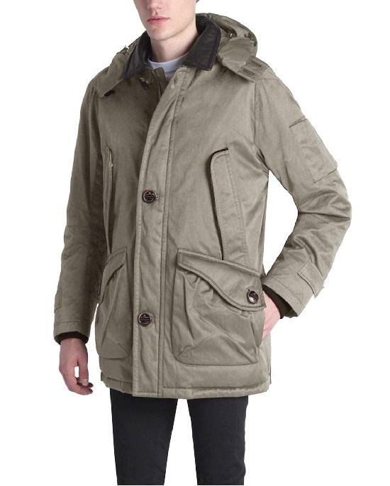 RAINFOREST Men's Down Parka With Removable Hood - Fashionbarn shop