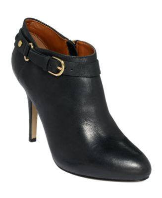 IVANKA-SHERY LHIGH HEEL SHOOTIE BOOTIES-IVANKA TRUMP-Fashionbarn shop