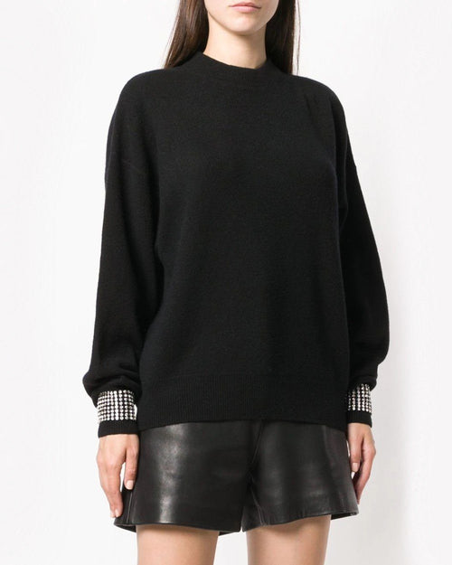 Alexander Wang Crystal Embellished Sweater