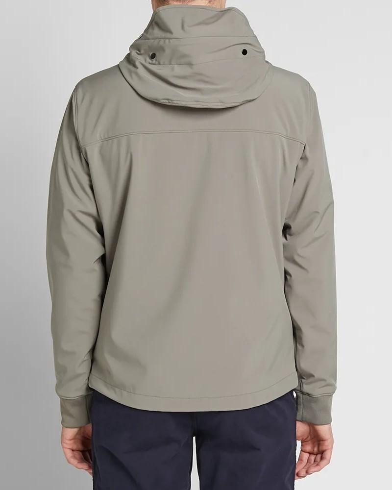 C.P. Company Soft Shell Goggle Jacket. Grey