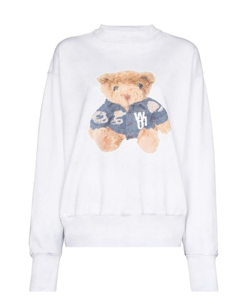 We11done Teddy Cotton Sweatshirt