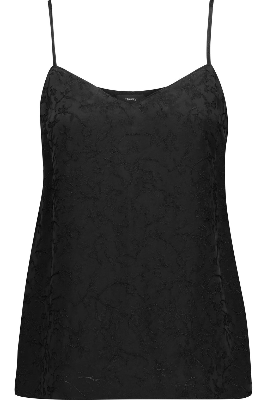 THEORY Sakshee Satin-jacquard Camisole Women Top