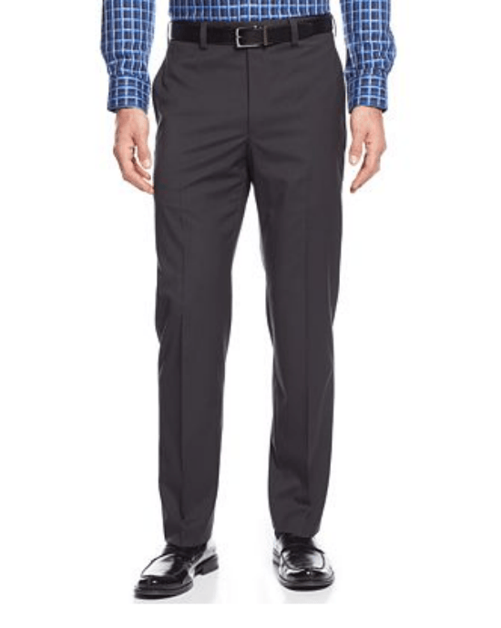 Lauren Ralph Lauren Black Mini-Check Dress Pants-RALPH LAUREN-Fashionbarn shop
