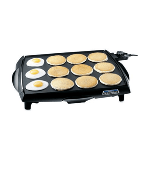 Presto Big Griddle Cool Touch Griddle, 07046-PRESTO-Fashionbarn shop