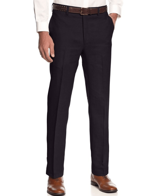 Ralph Lauren Men's Flat - Front Linen Dress Pants-LAUREN RALPH LAUREN-Fashionbarn shop