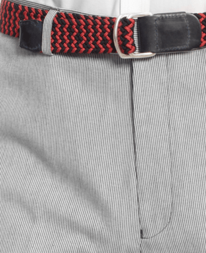 Tommy Hilfiger Black and White Pincord Pants Trim Fit-TOMMY HILFIGER-Fashionbarn shop