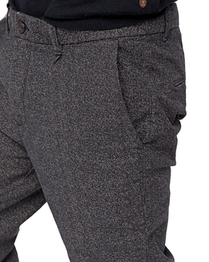 Scotch & Soda Chino Pants Pleated Yarn Dyed Chino-SCOTCH AND SODA-Fashionbarn shop