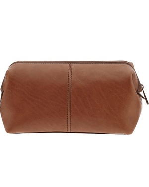 Fossil Estate Glazed Leather Travel Case-FOSSIL-Fashionbarn shop