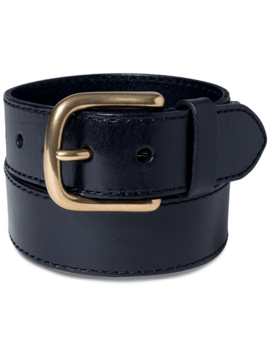 Levi's Brass Buckle Leather Belt-LEVI'S-Fashionbarn shop