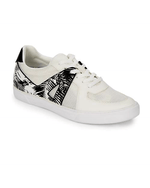 Dolce Vita Black Xylia Leather-trimmed Sneakers-DOLCE VITA-Fashionbarn shop