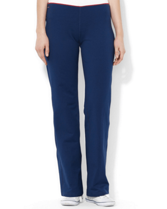 Lauren Ralph Lauren Straight-Leg Active Pants-LAUREN RALPH LAUREN-Fashionbarn shop