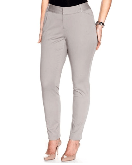 Inc International Concepts Skinny pants truffle taupe-INC-Fashionbarn shop