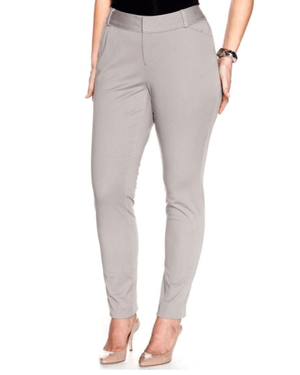 Alfani Slim-Leg Zip Tummy-Control Pants-ALFANI-Fashionbarn shop