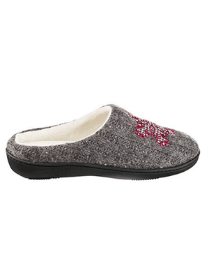 Isotoner Signature Holiday Snow flake Sweater Knit Critter Clog Slippers - Fashionbarn shop - 2