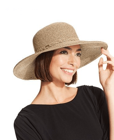 Nine West Packable Floppy Hat Brown Combo - Fashionbarn shop - 1