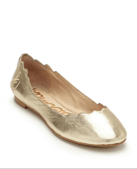 Sam Edelman Augusta Leather Flats - Fashionbarn shop - 1