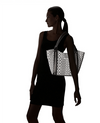 Nine West Track-Tion Action Tote Black White - Fashionbarn shop - 6