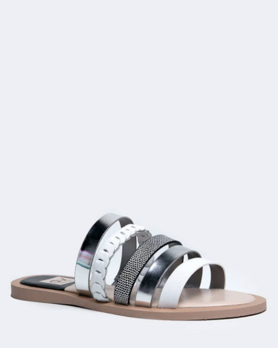 DV by Dolce Vita Flat Slide Sandals - Nalaa - By Dolce Vita Flat Slide Sandals - Nalaa