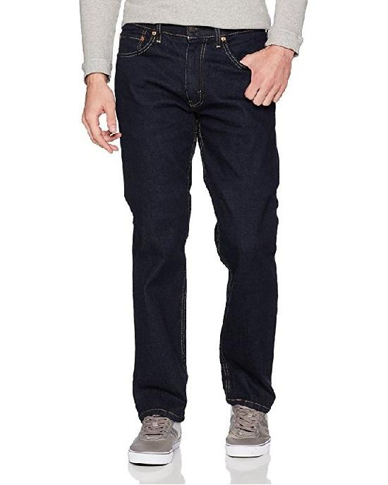 Levis 505 Regular Fit Jeans Rinse Stretch