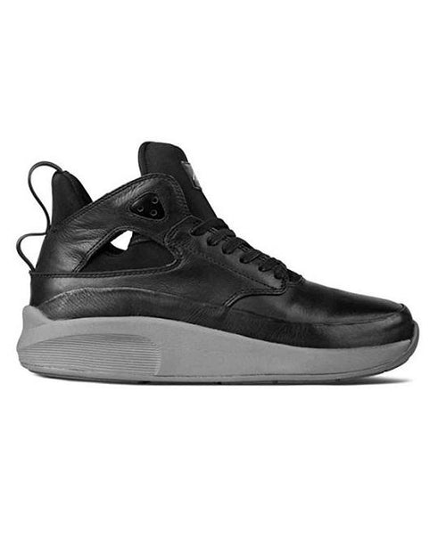 Article Number Nº 1115-0135 in black Men's Mid-cut Sneakers Shoes