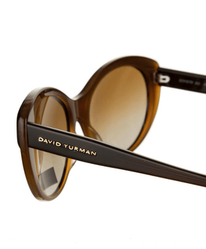 David Yurman DY 079 A 02 Havana Fade Brown Gradient Lens Sunglasses