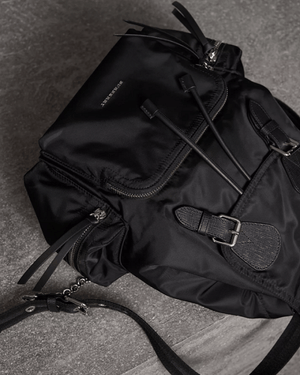 Burberry Medium Rucksack in Technical Nylon and Leather