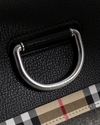 Burberry Mini Vintage Check and Leather D-ring Bag