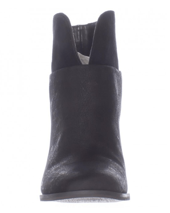 Nine West Dale Pull On Ankle Boots, Black/Black