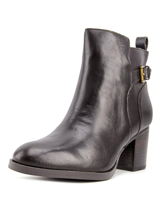 Lauren by Ralph Lauren Genna Women Brown Ankle Boot