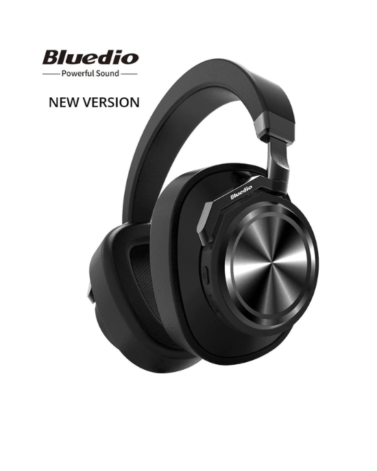 Bluedio T6 Active Noise Cancelling Headphones Wireless Bluetooth Headset
