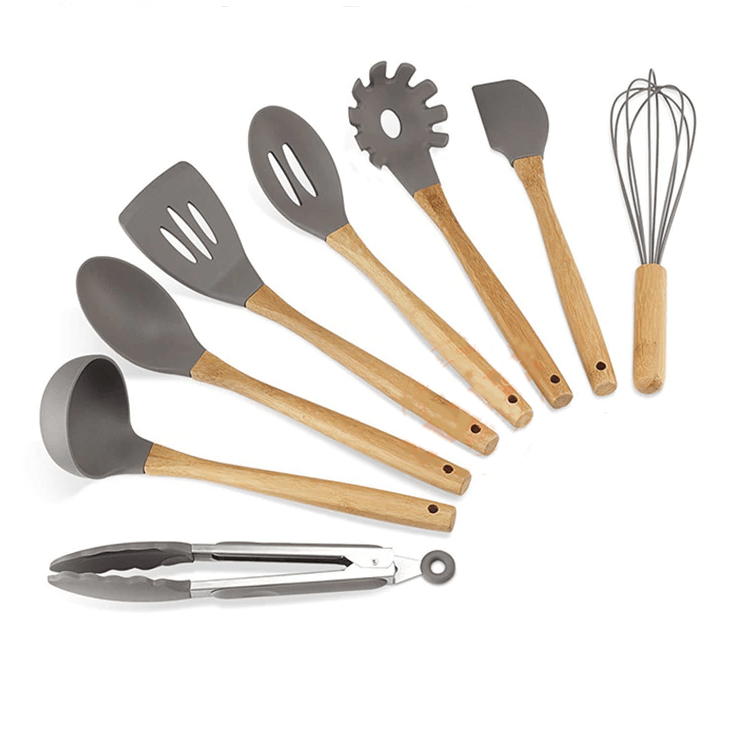 Wooden Cooking Utensils Kitchen Tools Set