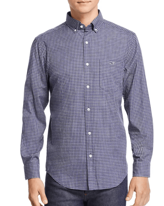 Pin Oak Tucker Gingham Classic Fit Button-Down Shirt
