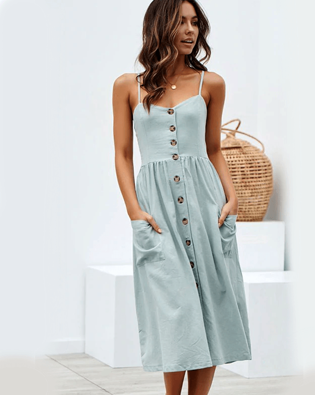 Women's Beach Party Midi Dress
