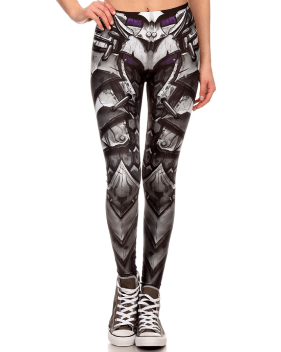Women's Robot 3D Print Leggings
