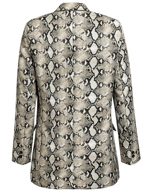 Women's Animal Skin Print Jacket