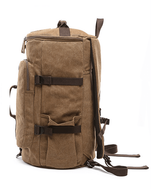 Men's Canvas Travel Backpack Duffel