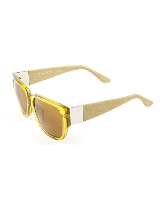 Linda Farrow ROW502C5 Sunglasses Ochre yellow