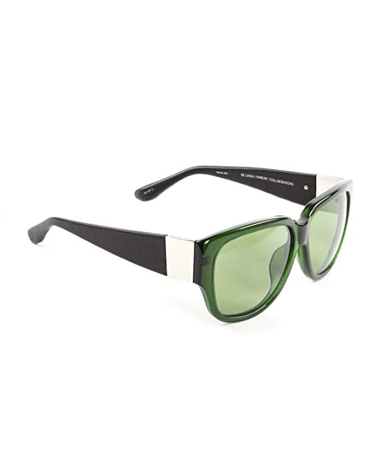 Linda Farrow ROW502C5 Sunglasses Bottle Green