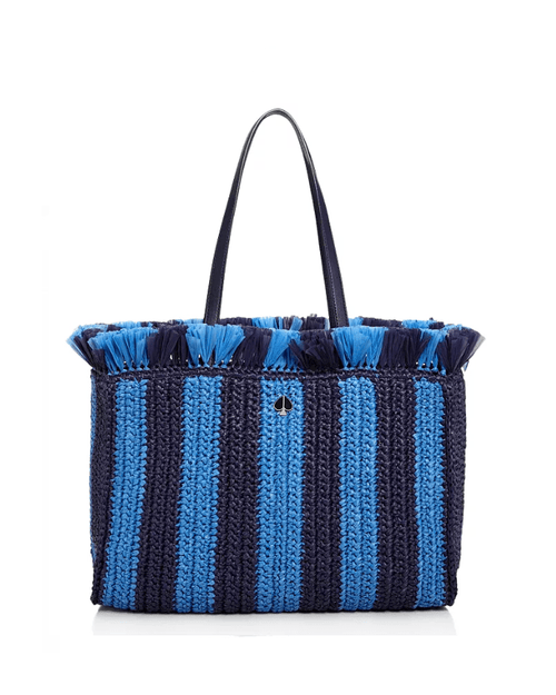 kate spade new york Large Raffia Tote